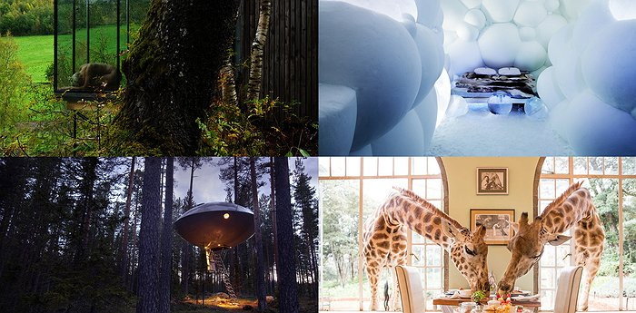 81 Most Unusual Hotels In The World