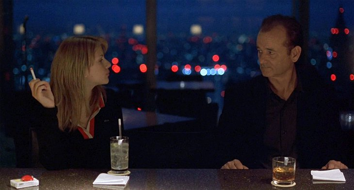 Lost In Translation Movie With Bill Murray And Scarlet Johansson Drinking At The Park Hyatt Tokyo Bar