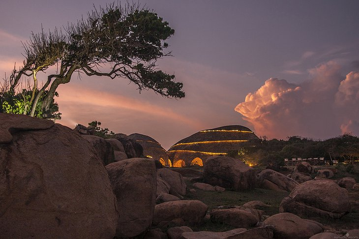 Wild Coast Tented Lodge Cocoon Building