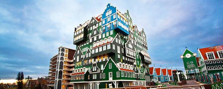 Inntel Zaandam – The Most Eye-Catching Hotel In Amsterdam