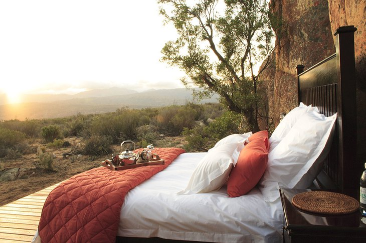 Kagga Kamma Nature Reserve Outdoor Bed