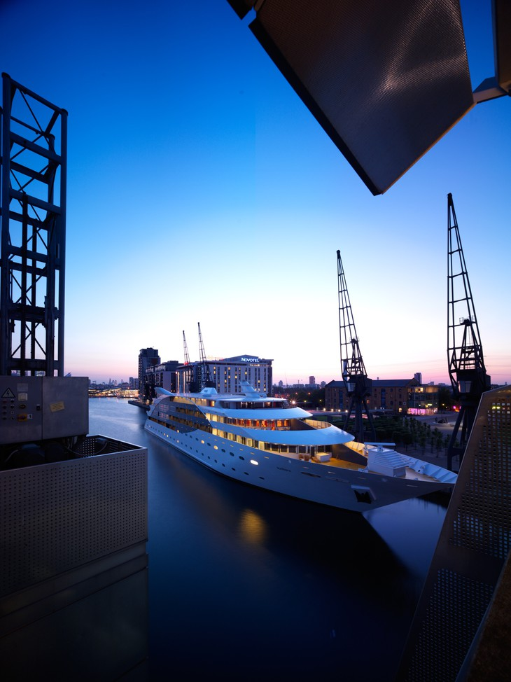 Sunborn London at Royal Victoria Dock