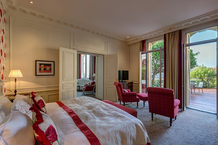 Hotel Hermitage Monte-Carlo suite with balcony