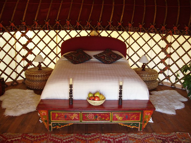 The Hoopoe Yurt Hotel Afghani Yurt