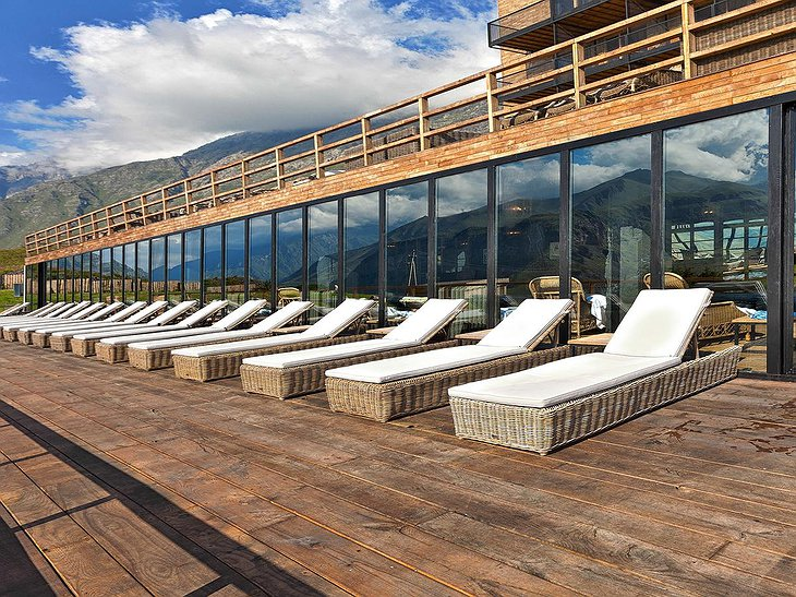 Rooms Hotel Kazbegi Sun Loungers