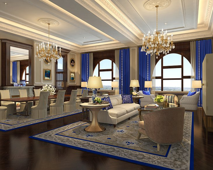 Trump International Hotel Washington guest room