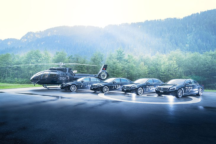 7132 Hotel Car And Helicopter Fleet