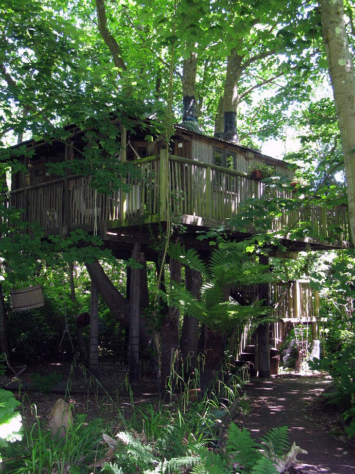 Castle Cottage Treehouse