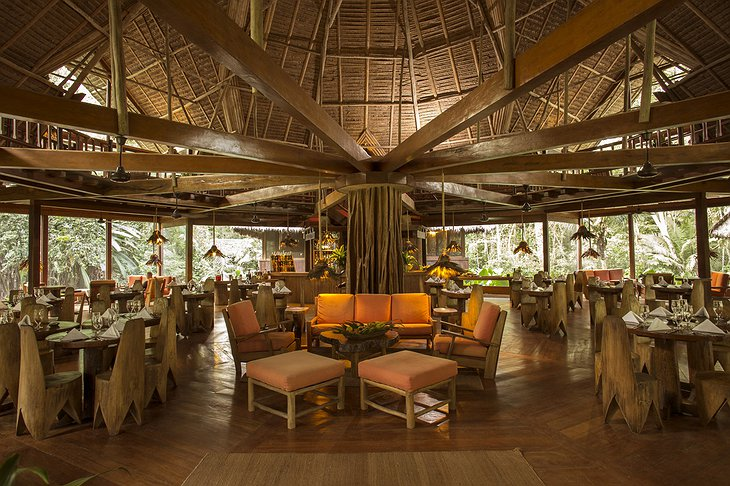 Inkaterra Reserva Amazonica Lodge Dining Room