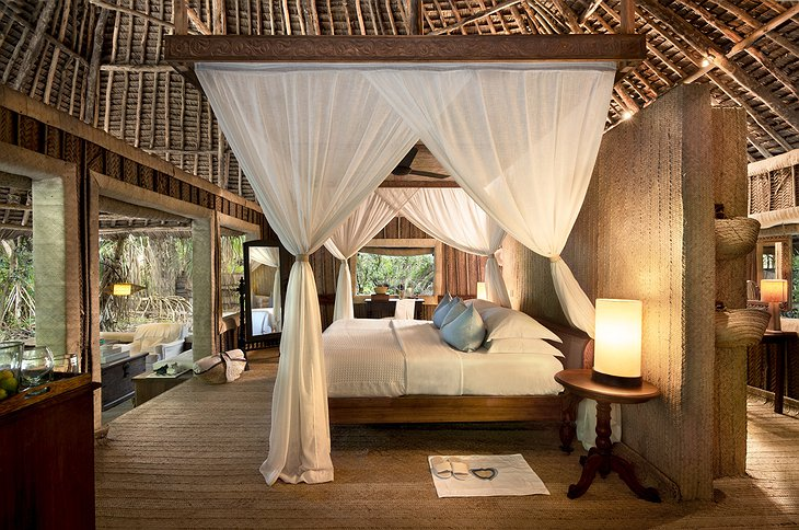 andBeyond Mnemba Island suite interior