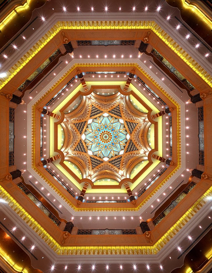 Emirates Palace ceiling