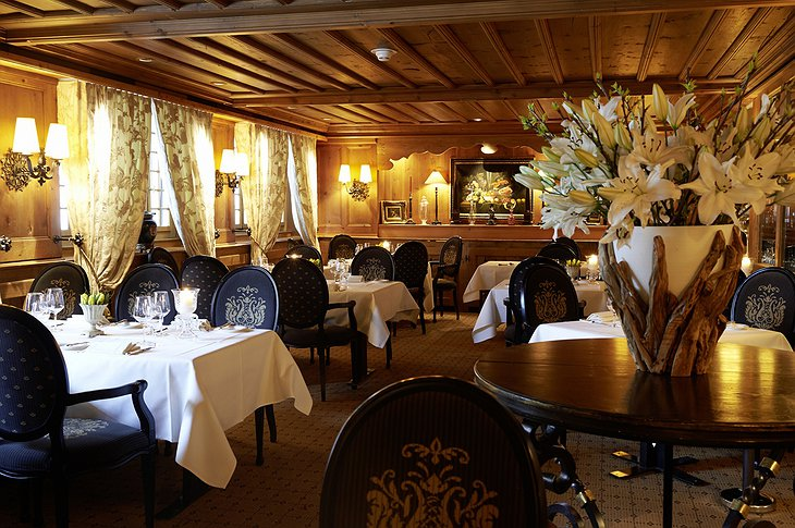 Gstaad Palace Le Grill