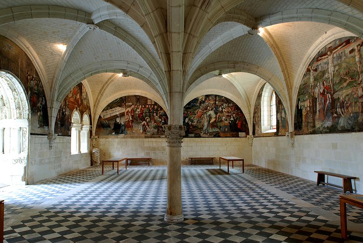 Fontevraud Abbey paintings