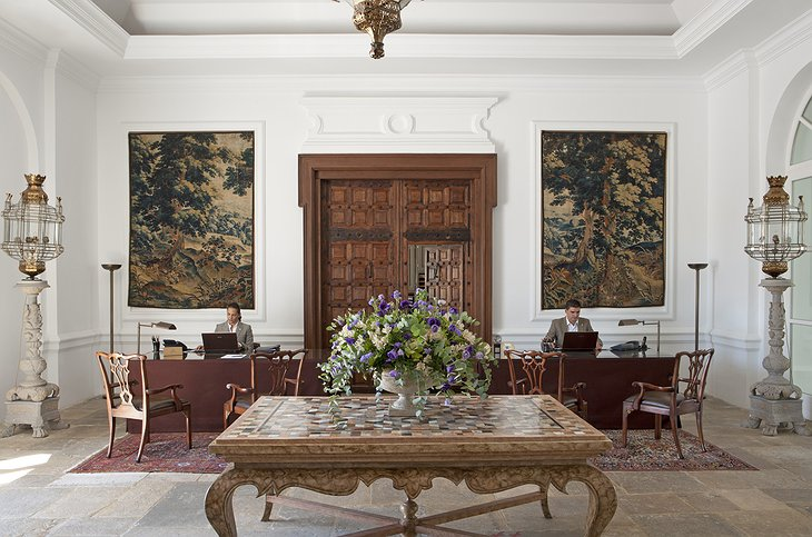 Finca Cortesin Hotel check in