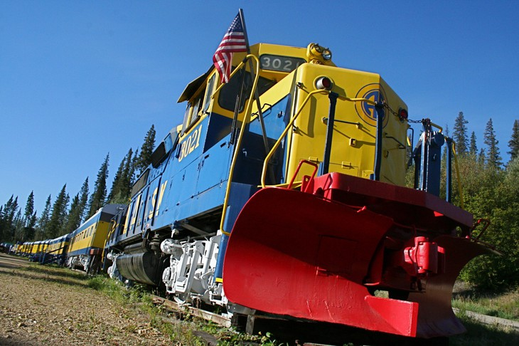 Aurora Express train