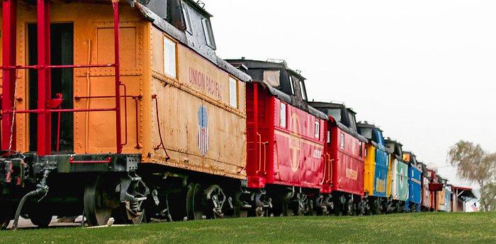 Red Caboose Motel & Restaurant - Authentic Red Cabooses Turned Into A Family Retreat In Pennsylvania