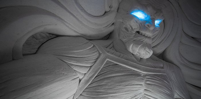 Lapland Hotels SnowVillage - Ice Hotel with Game of Thrones Theme