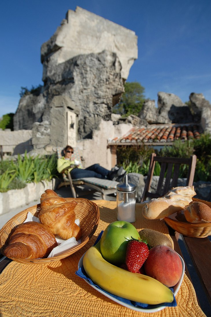 Prince Noir breakfast with view