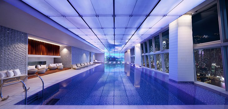 Ritz-Carlton Hong Kong swimming pool