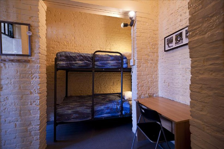 Ottawa Jail Hostel dorm room