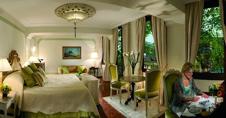 Belmond Hotel Cipriani room with big windows