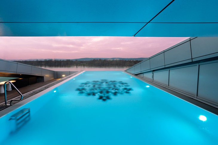 Kameha Grand Bonn rooftop pool