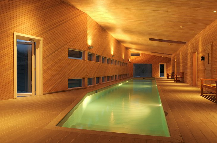 Explora Patagonia Hotel swimming pool
