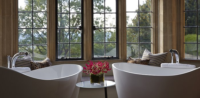 Foxhill Manor - Double Bathtubs Overlooking The English Countryside