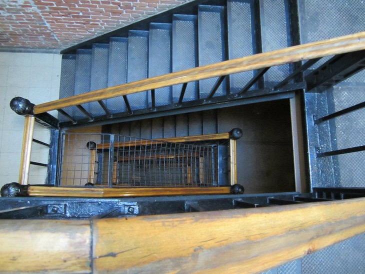 Ottawa Jail Hostel stairs view from top