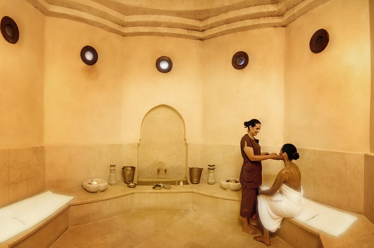 Moroccan spa treatment