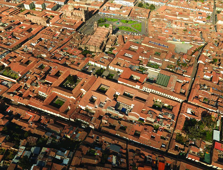 Cusco aerial photo