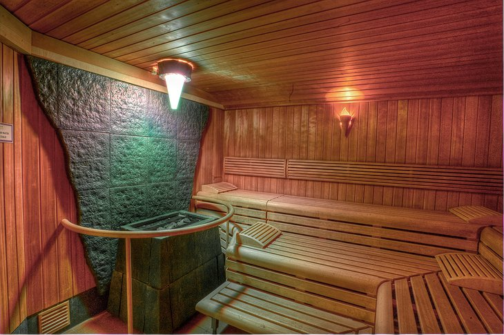Auchrannie Resort sauna