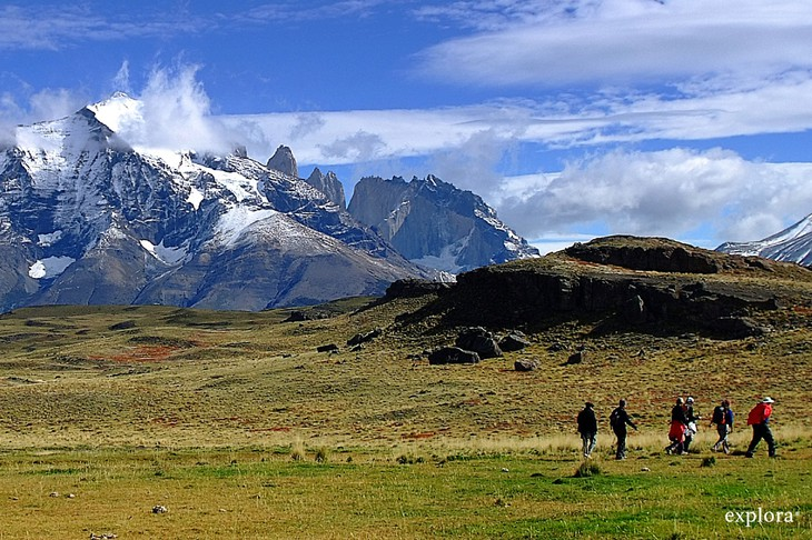 Trekking in the Torres del Paine National Park