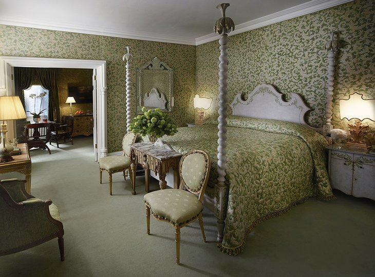 Ashford Castle suite room