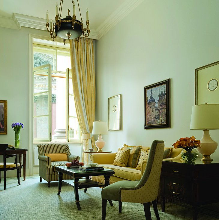 Four Seasons Hotel Lion Palace St. Petersburg suite