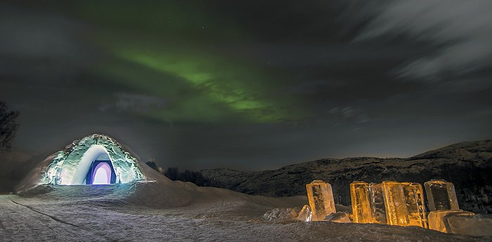 Kirkenes Snowhotel - Ice Hotel In Norway