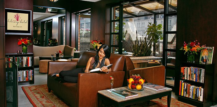 Library Hotel New York - Living Among The Books