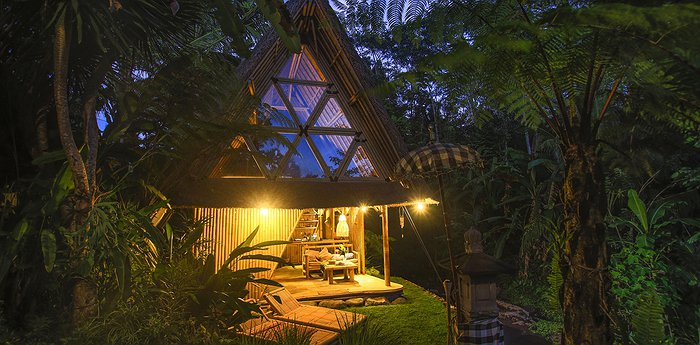 Hideout Bali Off Grid Eco Bamboo Home