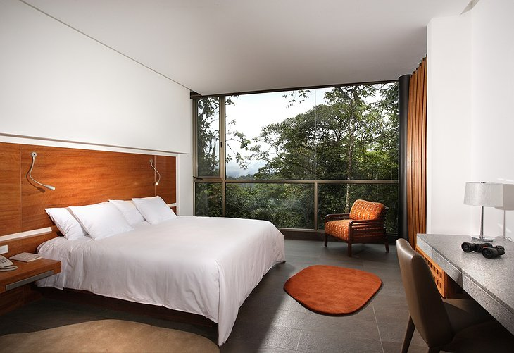 Mashpi Jungle Lodge Wayra double room