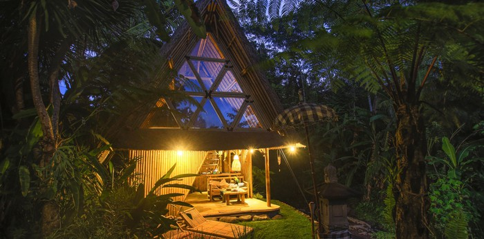 Hideout Bali - Off-grid eco bamboo home