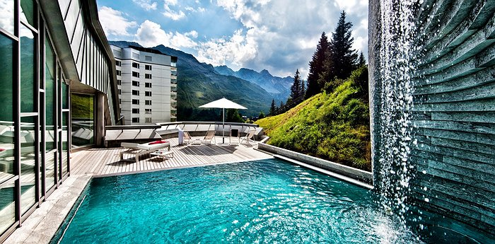 Tschuggen Grand Hotel - Swiss Mountain Spa Paradise