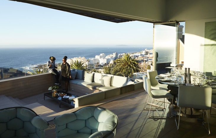 Ellerman House villa with balcony