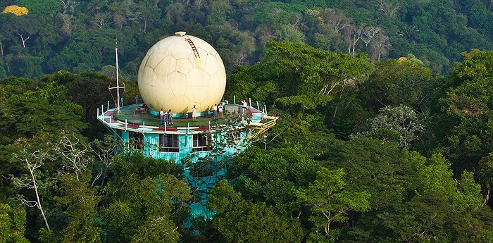 The Canopy Tower – Evil Empire Turned Bird Watchers Paradise