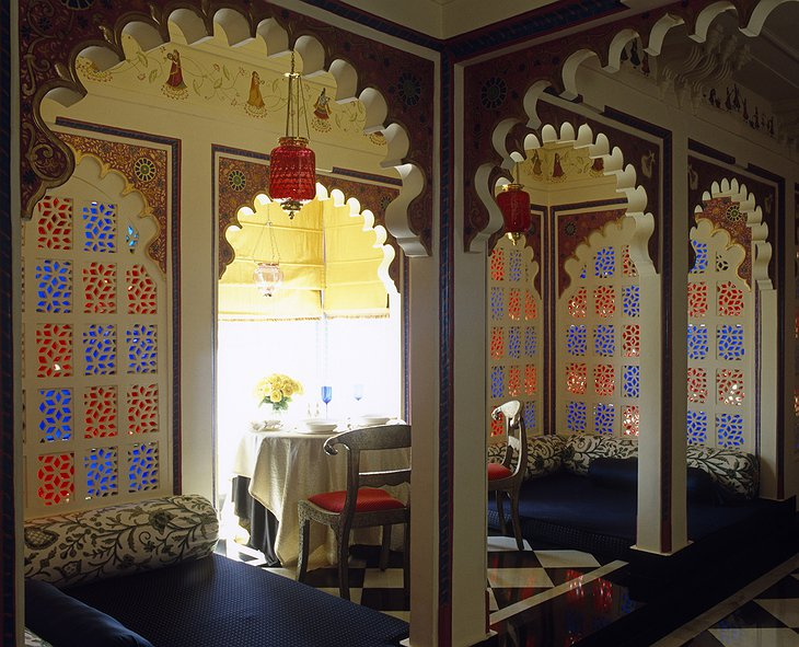 Lake Palace Hotel private dining