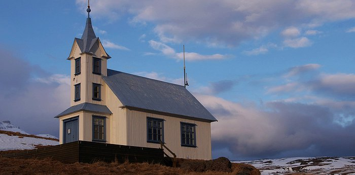Kirkjubaer Church – authentic Iceland
