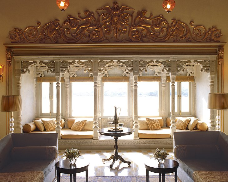 Lake Palace Hotel interior design