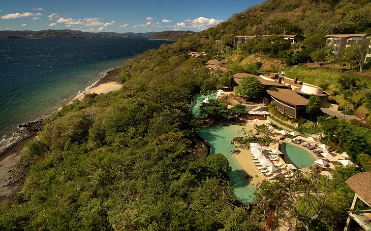 Andaz Peninsula Papagayo resort aerial