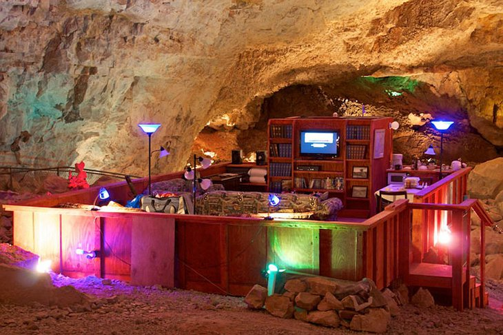 Grand Canyon Caverns Cave Room