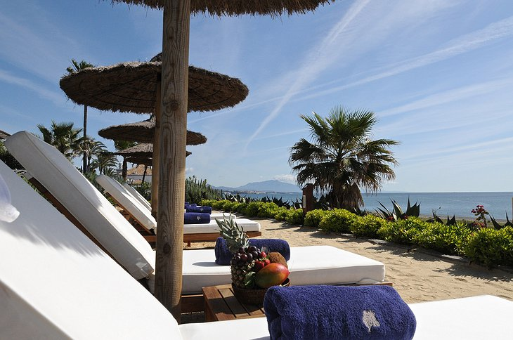 Finca Cortesin Hotel sun decks