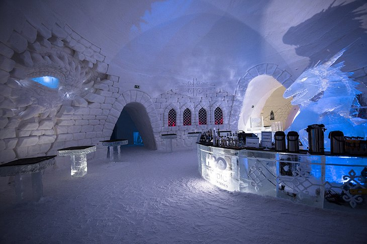 Lapland Hotels SnowVillage Game of Thrones Themed Bar
